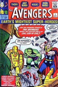 First issue of The Avengers